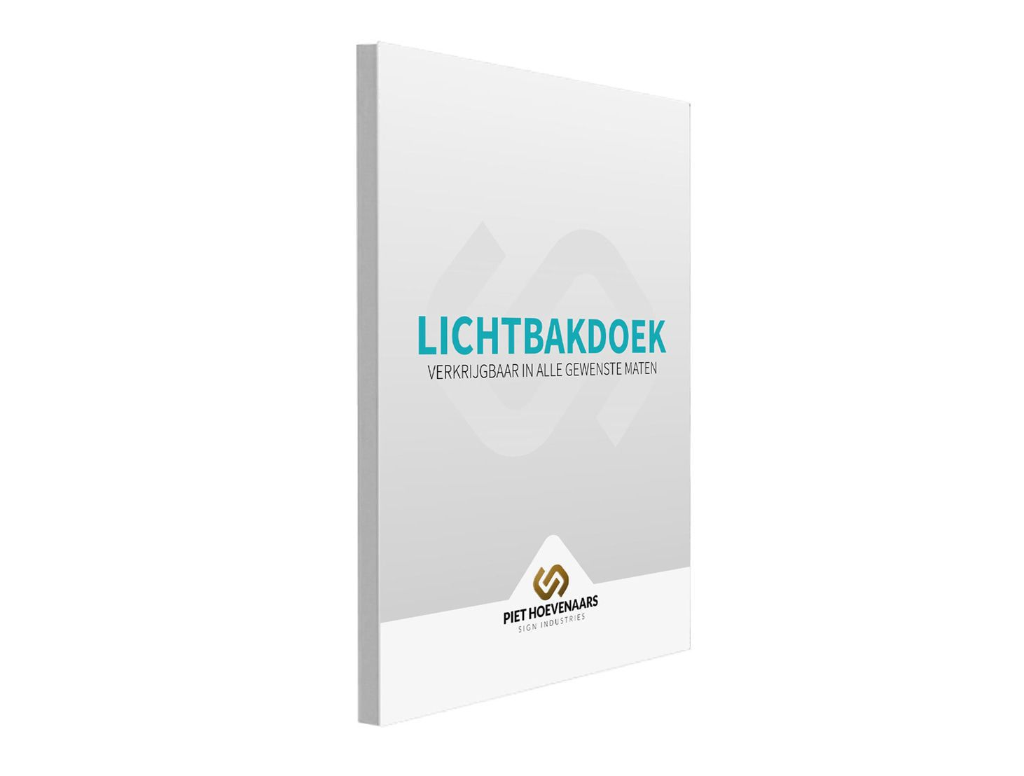 Lichtbakdoek - PVC - Backlit 200%