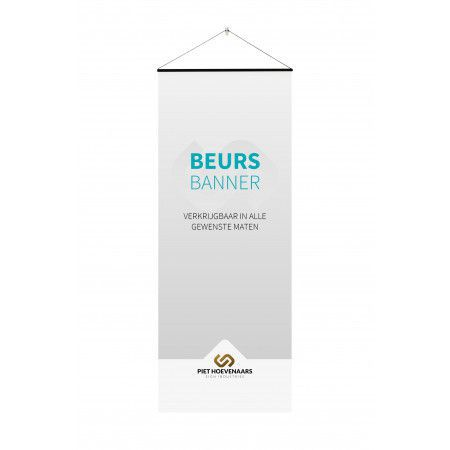 Beursbanner - PVC - Backlit Single - Day & Night