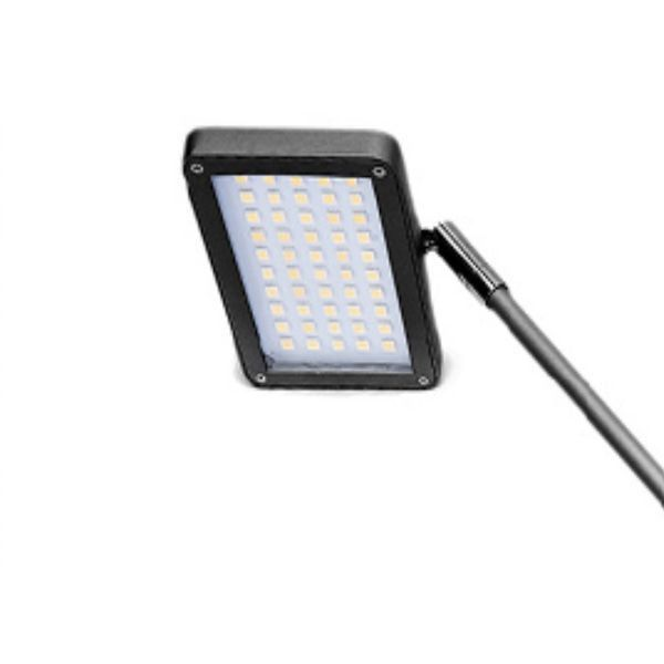 LED lamp - Zipperwall - Zwart